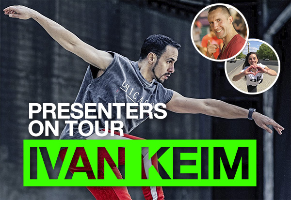 PRESENTERS ON TOUR <br>with Ivan Keim